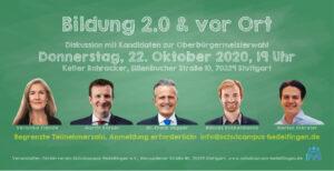 Flyer Bildung 2.0